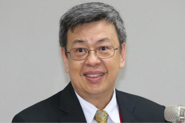 台湾地区副领导人陈建仁(图片来源:台湾《联合报》资料图)