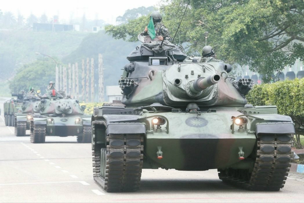 M60A3坦克(图片来源:台湾《联合报》资料图)