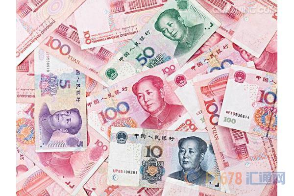 人民币汇率--中国GDP超预期且美指疲软助力,人民币收盘再创新高