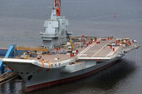 美媒称中国第二艘航母战力强大 新航母将配预警机_遨游VPN