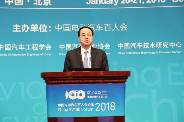 中国中车总裁孙永才:中车将成全球新能源汽车核心技术引领者