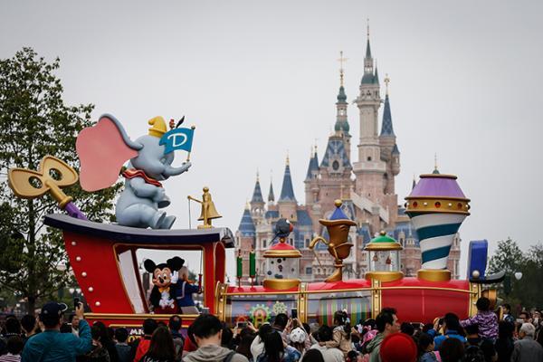 上海迪士尼乐园 澎湃新闻 资料图