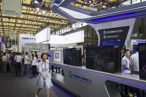 去年在上海举行的世界移动大会备受海内外关注。新华社