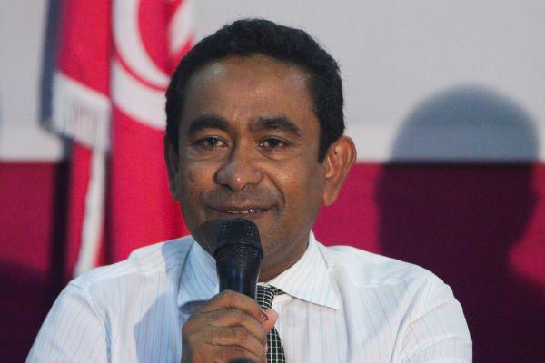 资料图片:马尔代夫总统亚明 新华社记者郑焕松摄
