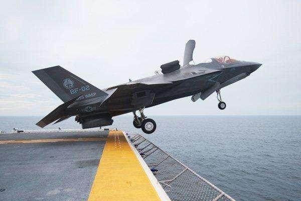 图为F-35B战斗机