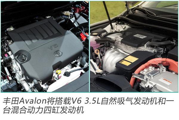 丰田全新Avalon预告图发布 将于2019年国产
