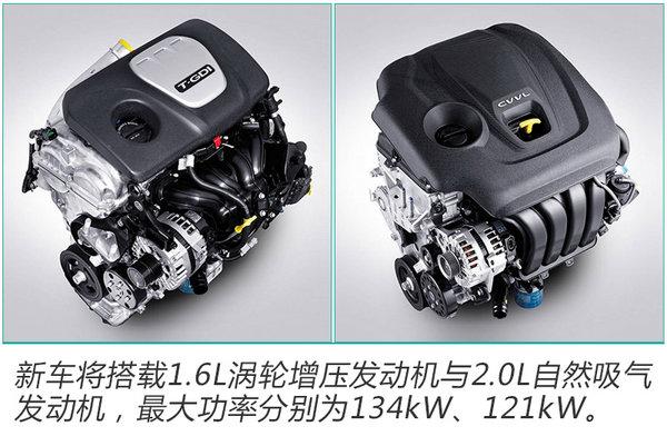 起亚将推新款K5 换搭8AT变速箱/有望年内发布