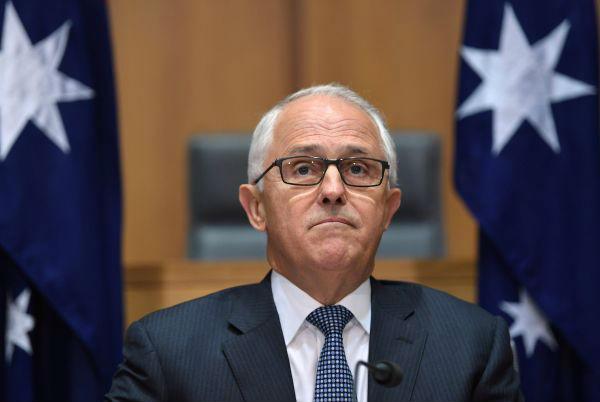 资料图:澳大利亚总理特恩布尔(新华社)