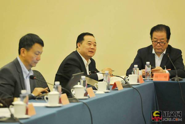 全国政协十三届一次会议民盟界小组会议举行
