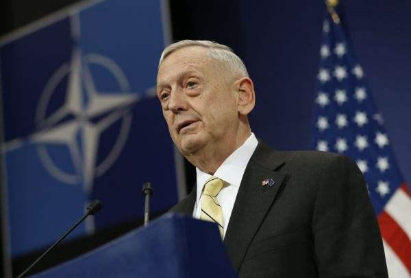 美防长马蒂斯宣布两周后将公布《国防战略报告》简要版本