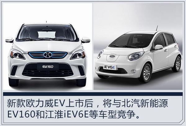 长安欧力威EV将推升级版车型 续航里程增58km