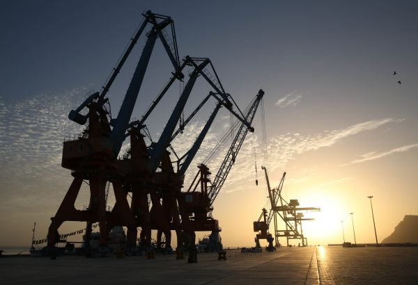 资料图片:这是2017年3月23日拍摄的巴基斯坦瓜达尔港区。新华社记者刘天摄