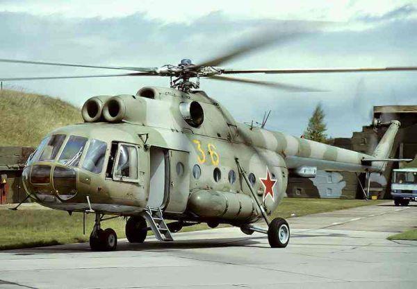 俄军再出严重空难 米-8直升机坠毁致6人死亡