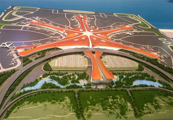 年吞吐1亿人!北京新机场航站楼封顶