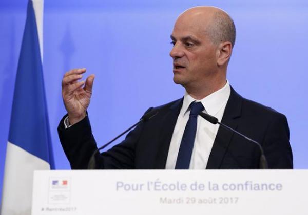 法国教育部长布朗盖。资料图