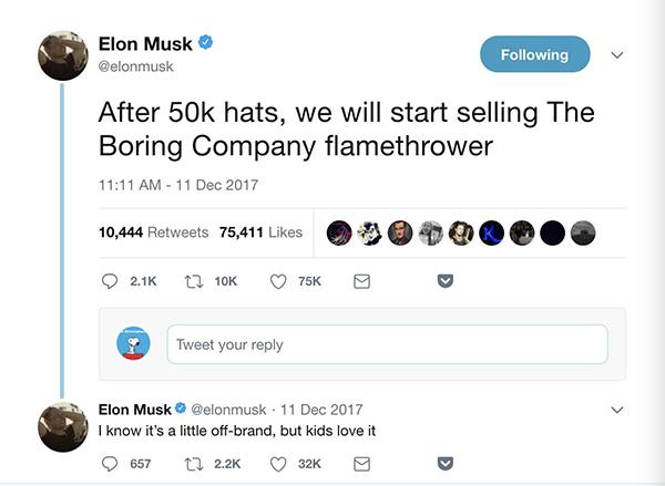 """马斯克要进军传媒业?未来公司名字可能叫""""砰"""""""