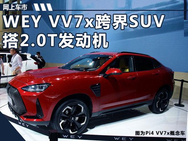 长城WEY全新跨界SUV 明年上市/酷似宝马X6