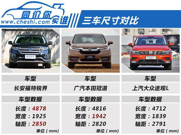 30万买四驱真SUV 锐界/途观L/冠道如何选?
