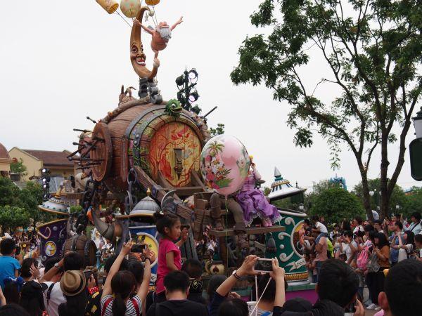 资料图:上海迪士尼乐园。新华社记者 任珑 摄