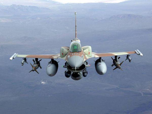 """资料图片:以色列空军F-16I""""雷暴""""战斗机。(图片来源于网络)"""