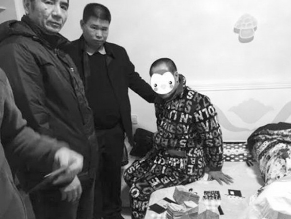 桂阳县公安局协助珠海警方抓获涉案280万元的特大抢劫案犯罪嫌疑人。警方供图