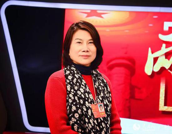全国人大代表、格力电器董事长董明珠 人民网微信公众号 图