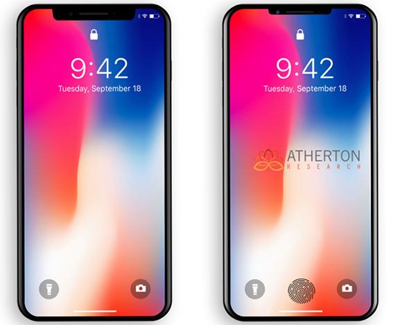 机构预测明年款iPhoneX:新增屏下虚拟指纹识别功能
