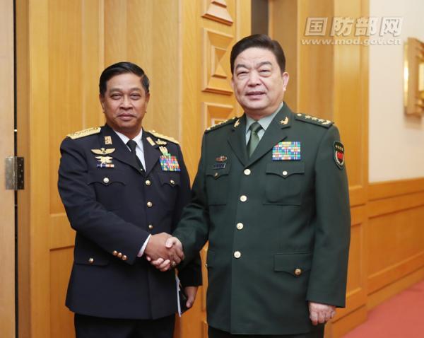 中国国防部长会见缅甸海军司令 将推动海军交流合作豪情三国逍遥传