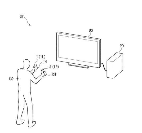 SONY申请全新VR手持控制器专利 提升追踪性能
