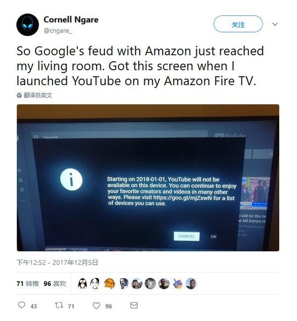 Mozilla参一脚:在Fire TV可通过Firefox浏览YouTube