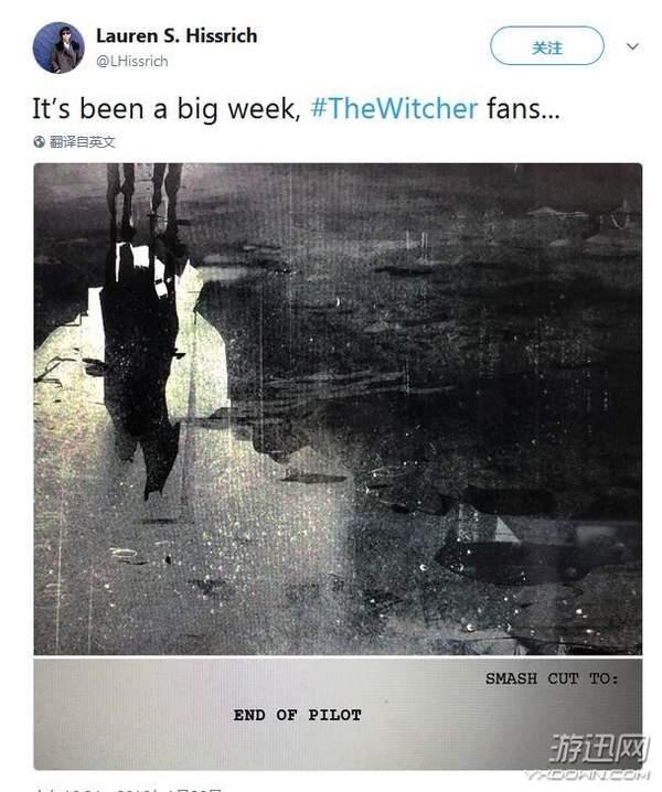 《巫师》电视剧剧本已初步完成 编剧:内容不会缩水