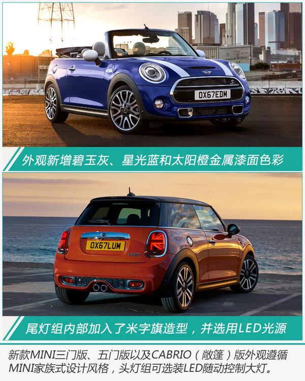 MINI 3大系列将换新上市 换搭7速双离合变速箱