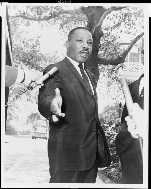45张黑白摄影连接起的马丁·路德·金和纽约