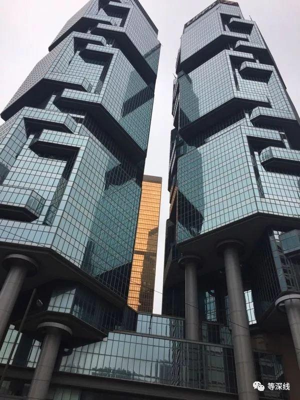 明天系香港公司所在地力宝大厦。 《等深线》记者 周远征 摄影