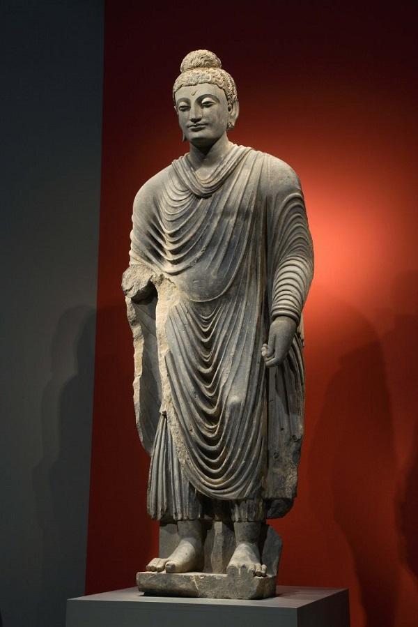 公元2世纪后半叶《犍陀罗立佛》(图片来自于官网)
