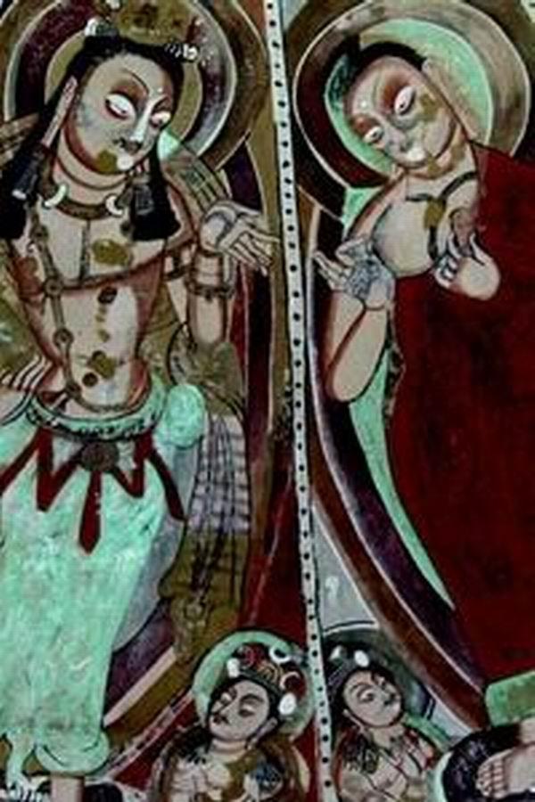 一周观展指南|龟兹壁画展佛国艺术,安格尔作品讲希腊神话