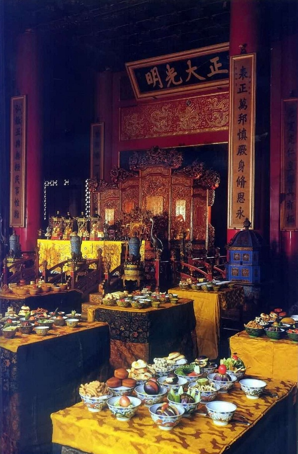 大清皇帝过年吃什么