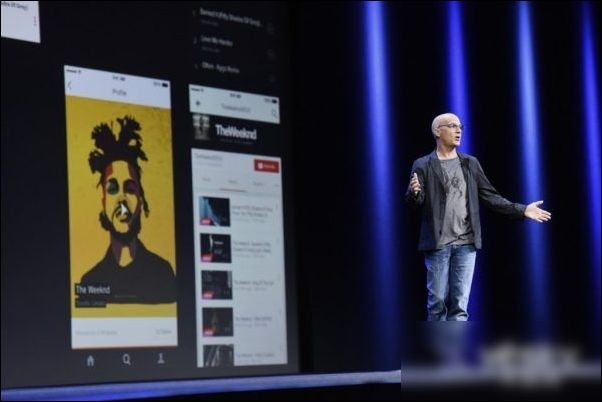 苹果Apple Music业务主管Ji