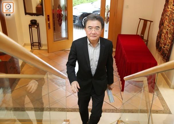 钱大康曾于2010至2015年出任港大首席副校長一职。(陈嘉顺摄)