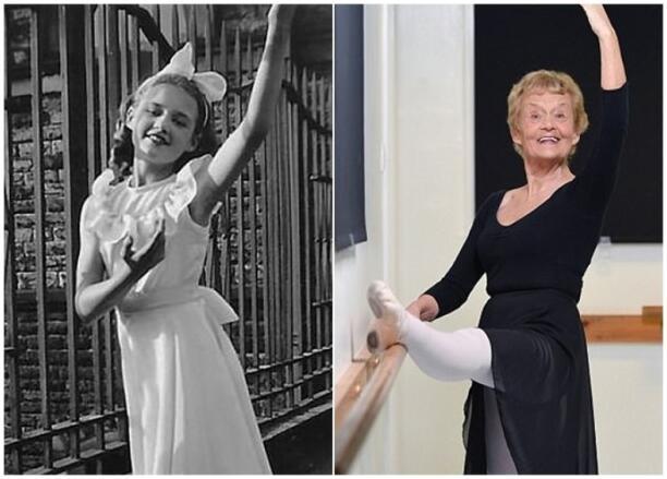 励志!英80岁老妇通过最高等级芭蕾舞考试