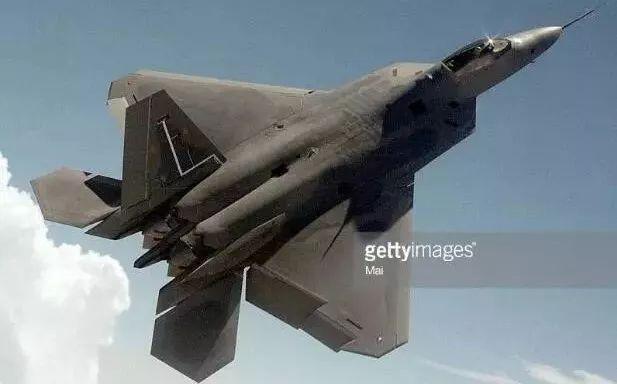 ▲美军第五代隐形战斗机F-22(盖帝图像)