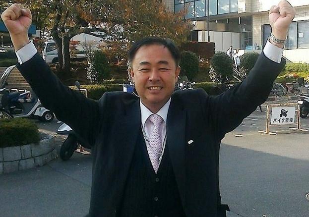 日本极右翼议员铃木信行