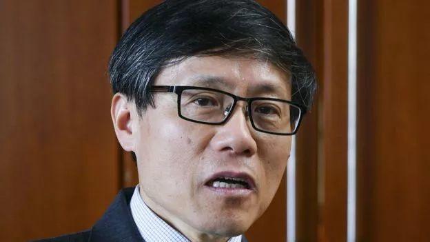 ▲中国驻非盟使团团长旷伟霖(欧洲新闻图片社)