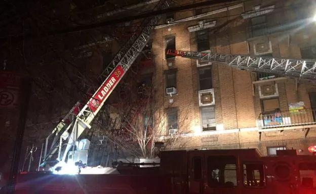 """纽约突发惨重火灾:""""很多楼层都能看到尸体,太悲惨了!"""""""