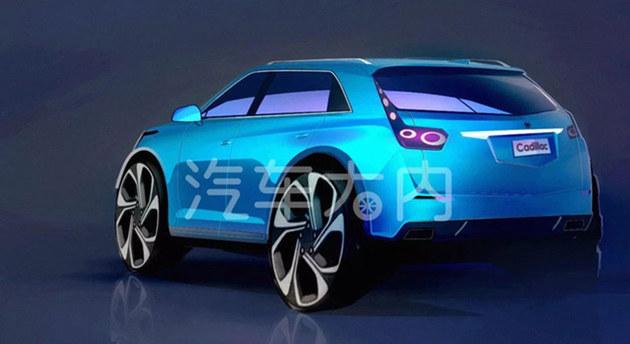 凯迪拉克XT4设计草图 有望第三季度上市