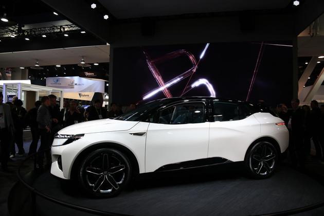 拜腾首款SUV概念车亮相CES消费电子展 2019年上市 售30万元起