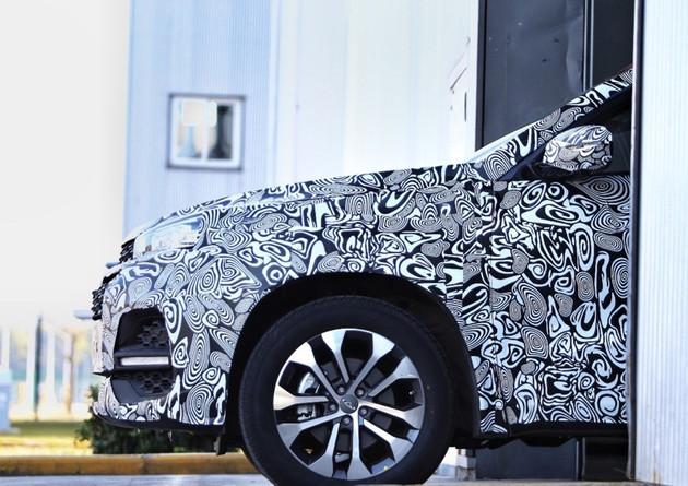 奇瑞全新中型SUV T18实车曝光 7座设计/或2018上半年上市
