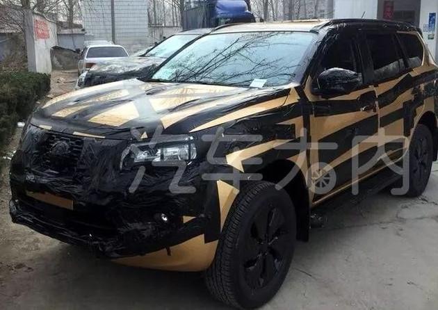 日产全新SUV TERRA谍照曝光 或2018北京车展亮相