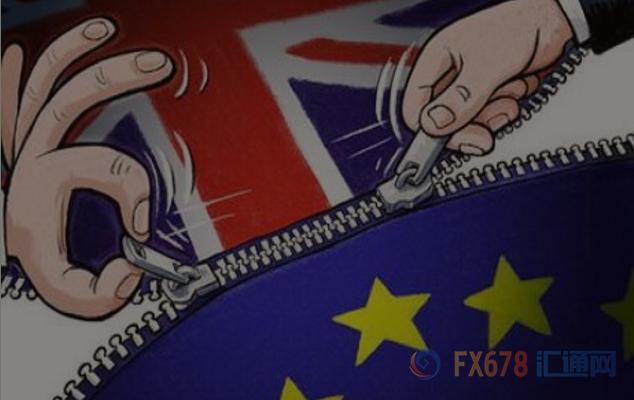 """英国与欧盟达成""""分手费"""" 英镑兑美元急涨160余点"""