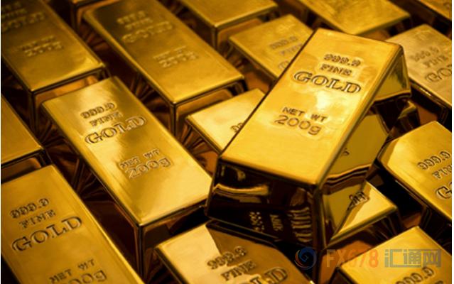 美指跌至3年低点提振黄金 预计金价或至1357上方